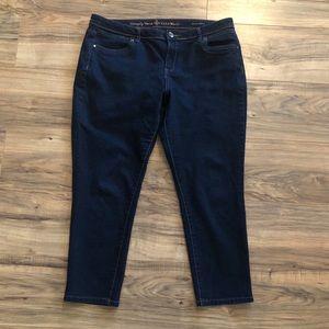 Size 16 Simply Vera - Vera Wang Jeans 16x26 skinny